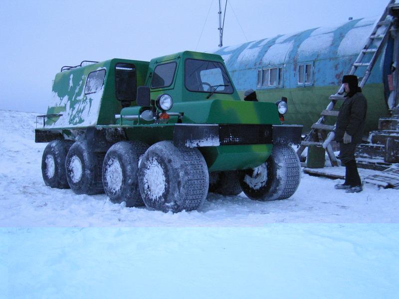 Снегоход на базе нивы